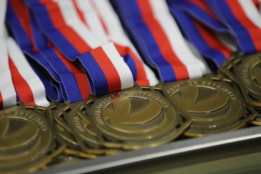 MČR medaile